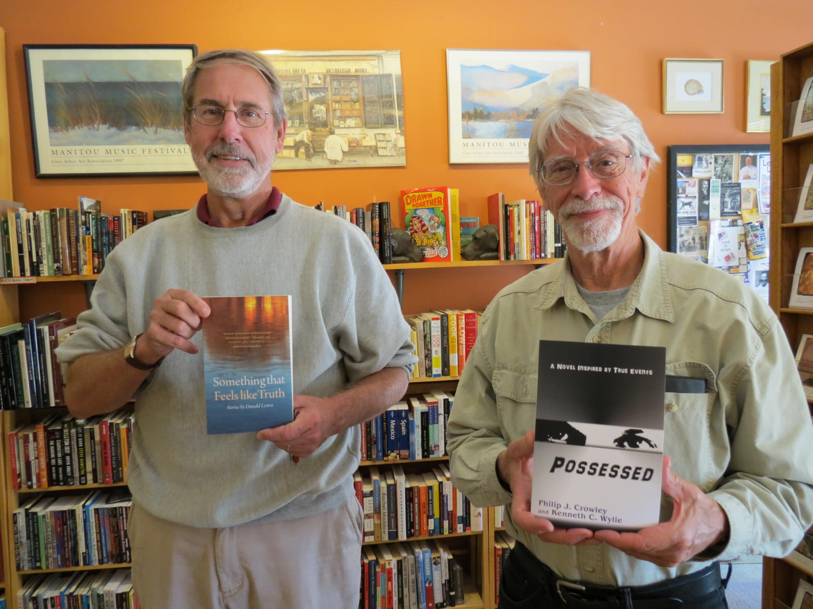 Donald Lystra at Dog Ears Books on Sept. 19