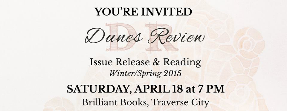 Dunes Review Spring 2015 Launch Party and Reading