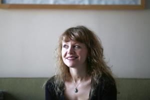 Author Christine Sneed.