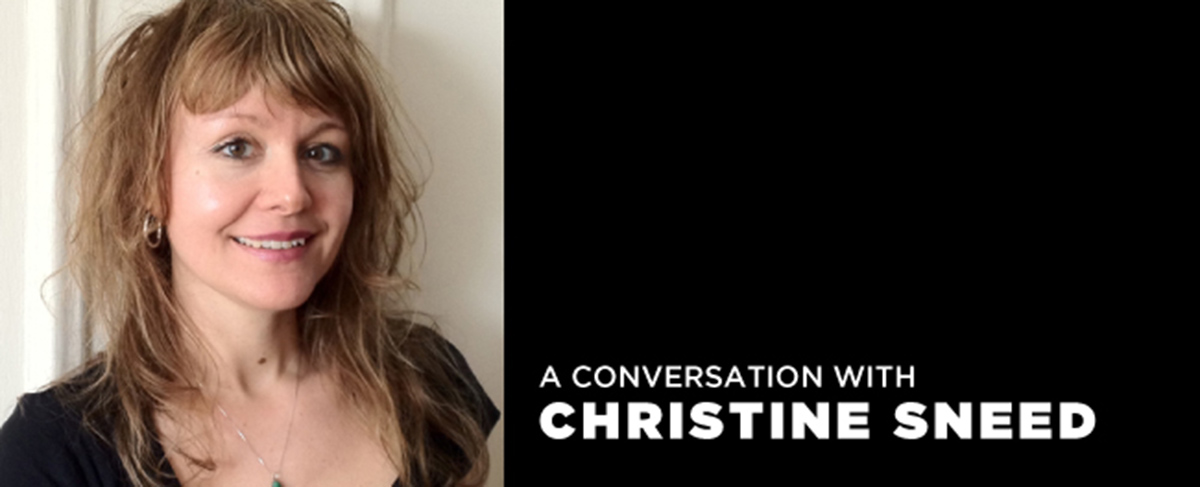 Fiction-Writing Craft Talk with Christine Sneed on Aug. 2