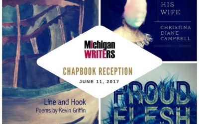 2017 Chapbook launch reception